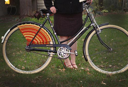Crochet Bicycle Dress Guard
