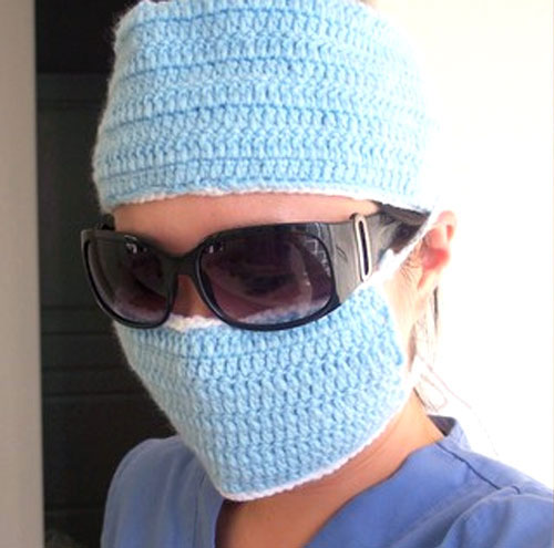 Crochet Surgical Mask