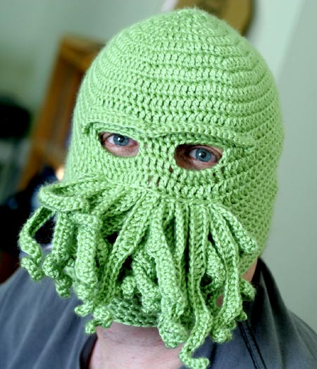Cthulhu Ski Mask
