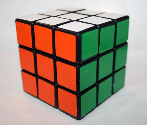 Rubiks Cube Soap