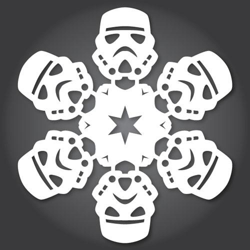 Stormtrooper Snowflake Design