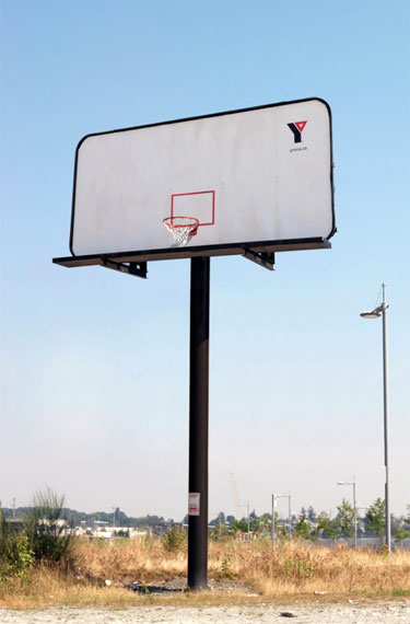 Basketball Billboard Ad For The YMCA