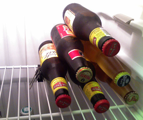 Binder Clip Beer Stack Hack