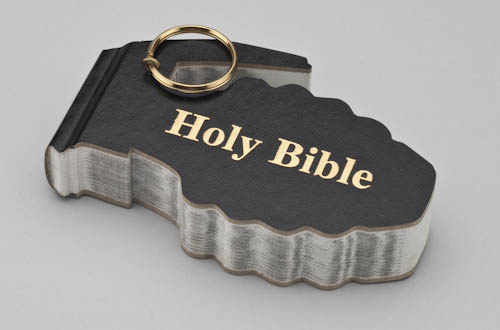 Bible Grenade Cut Out
