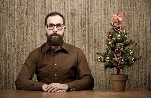 Christmas Beard » Funny, Bizarre, Amazing Pictures & Videos