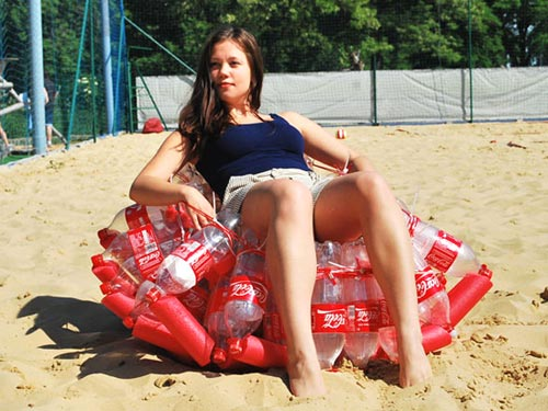 Coke Bottle Beach Chair
