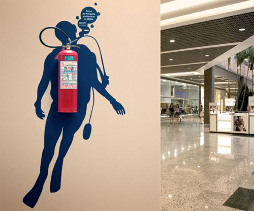 Fire Extinguisher Scuba Diving Tank
