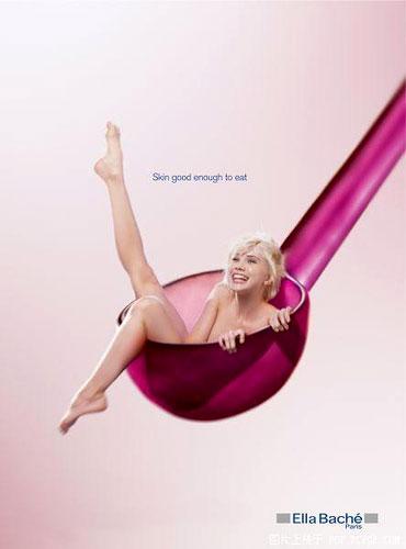 Ella Bache Skin Care Print Ad