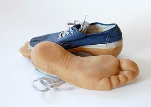 Foot Print Sneakers