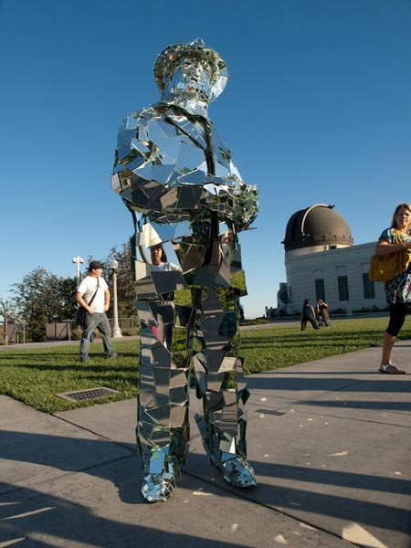 Suit Made From Mirrors