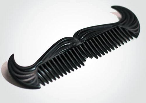 Cowboy Mustache Comb