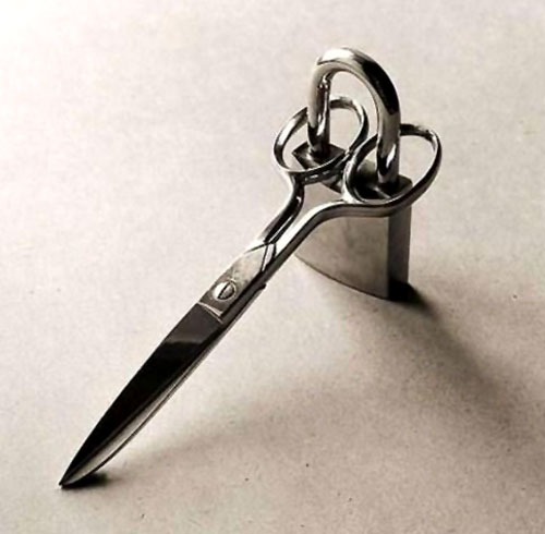 Locked Scissors