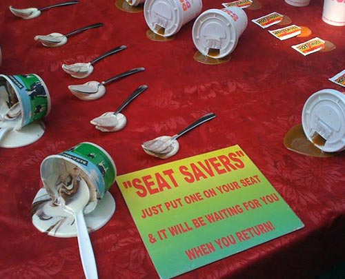 Messy Food Seat Savers