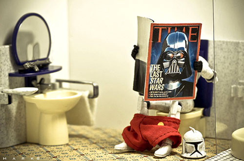 Stormtrooper Reading Time Magazine