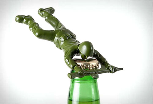 Army Man Bottle Opener