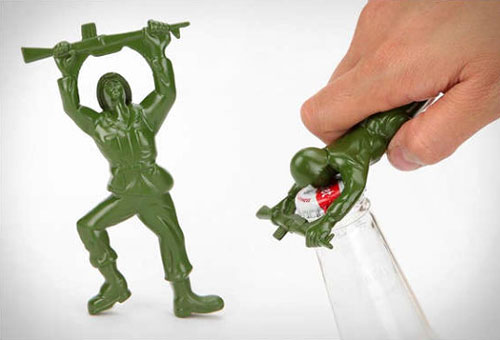 Die Cast Army Men Bottle Openers