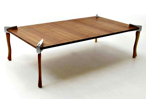 Axe Legged Table