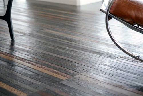 Flooring Made With Belts