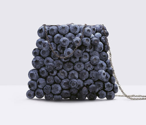 Blueberry Purse