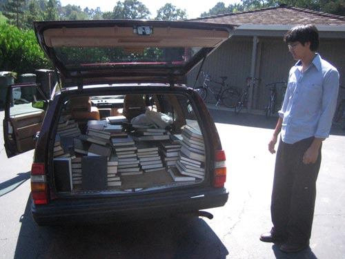 Car Full of Books