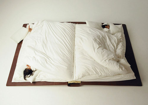 Giant Book Bed