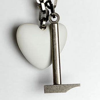 Broken Heart Pendant