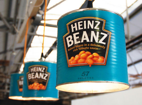 Heinz Beans Can Lights