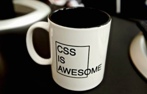 CSS is Awesome Coffee Cup
