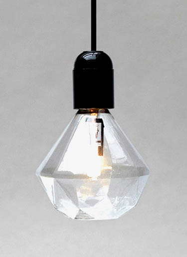 Diamond Shape Light Bulb