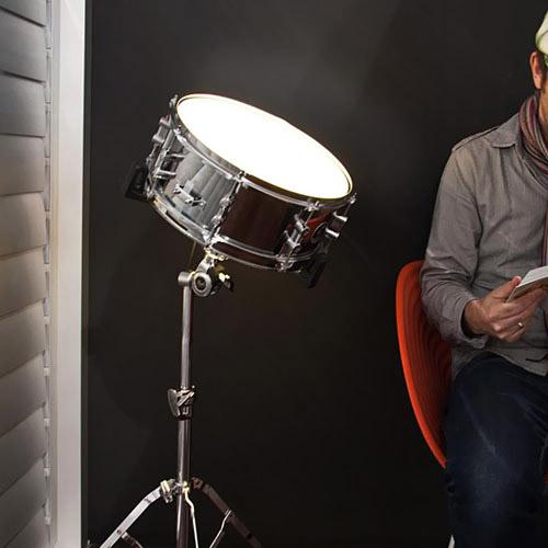 Snare Drum Lamp