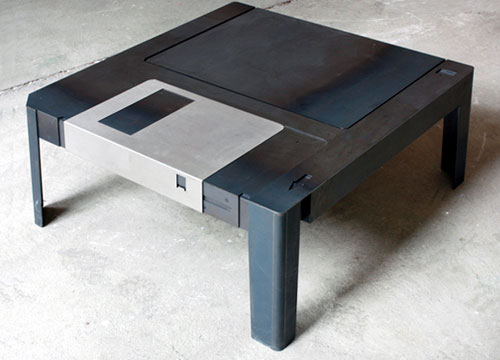 Floppy Disk Drive Coffee Table