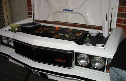 GTS Front Clip Barbeque