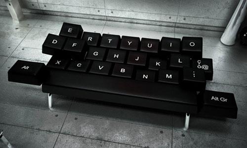 QWERTY Keyboard Daybed Sofa Design