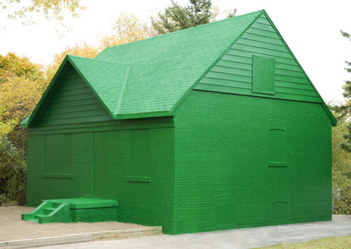 Life-Size Monopoly House