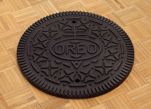Oreo Manhole Cover