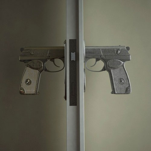 Pistol Grip Door Knobs