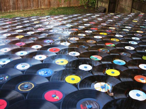 Vinyl Record Shingles