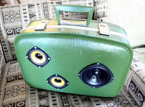 Suitcase Speaker Box