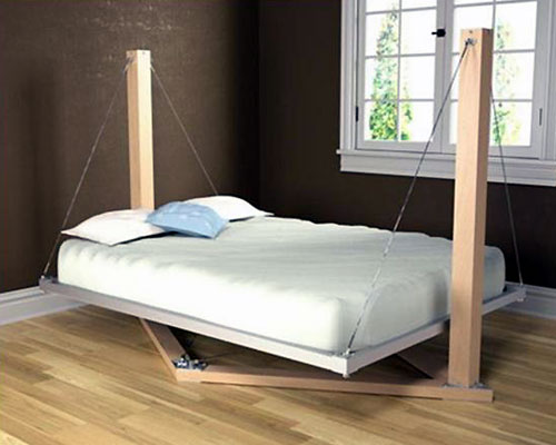 Hanging Swing Bed Design