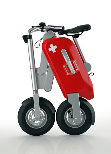 Swiss Army Folding Bike Design