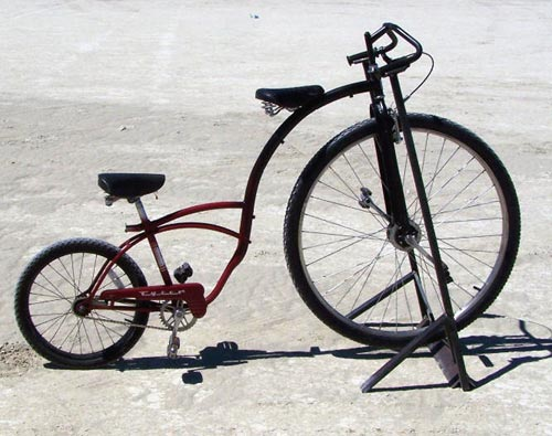 Tandem Penny Farthing High Wheeler