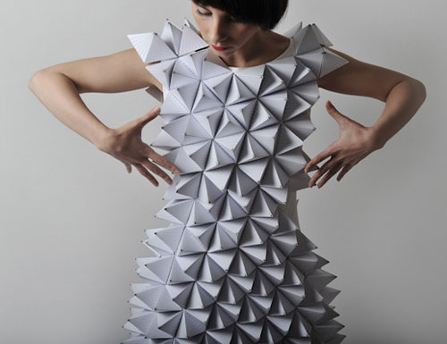 Paper Triangles Dress