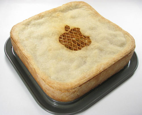 Apple Logo Pie