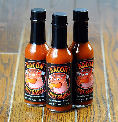 Bacon Flavored Hot Sauce