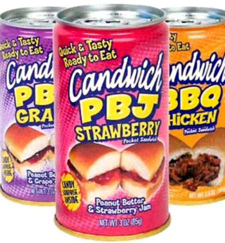 Sandwiches In A Can