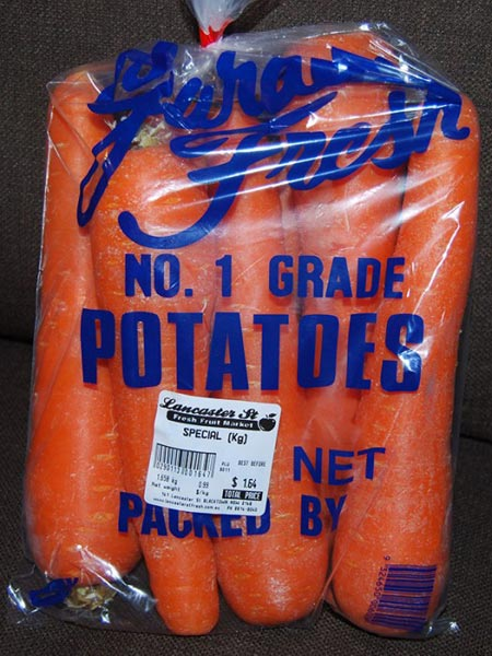 Potato Carrots