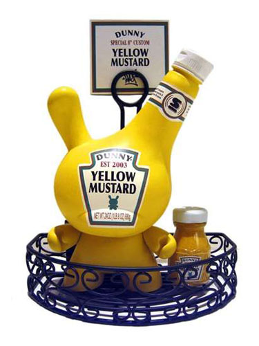 Dunny Mustard Bottle