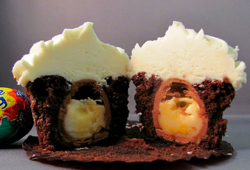 Creme Egg Cupcake
