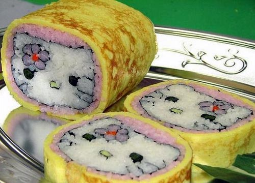 Hello Kitty Rice Roll