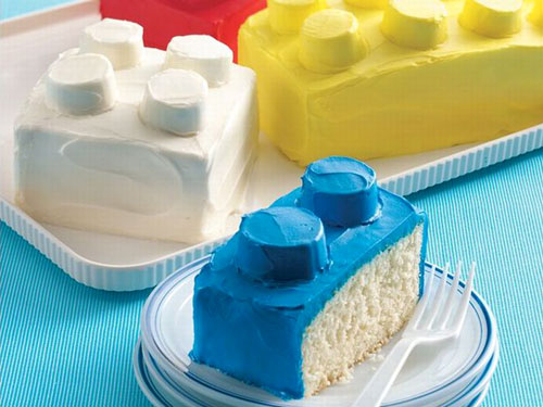 Lego Brick Cakes